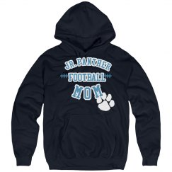 Paw Print Football Mom