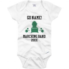 Custom Marching Band Infant Bodysuit