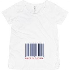 USA Made Maternity Barcode