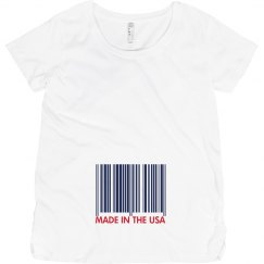 USA Made Maternity Barcode
