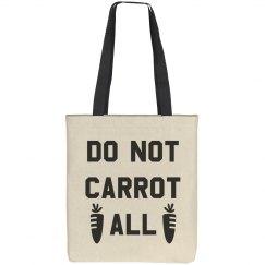 Do Not Carrot Easter Pun Totes