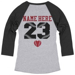 Your Cute Baseball Mom Jersey With Custom Name Number