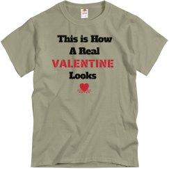 How valentine looks