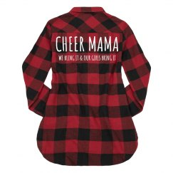 Cheer Mama Flannel