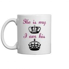 King & Queen Mug
