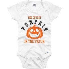 One Adorable Pumpkin