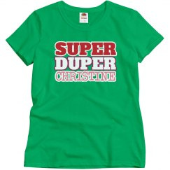Super Duper Christine