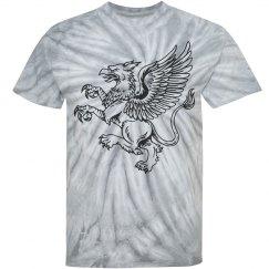 Dan`s grey griffin shirt