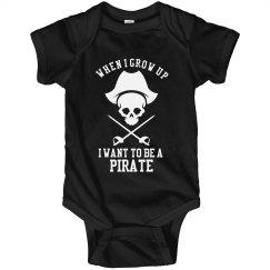 Pirate Onesie
