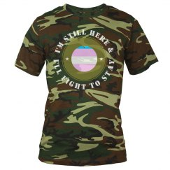 I'm Still Here Camo Tee For Him