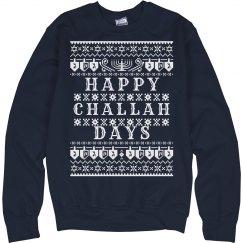 Happy Challah Days Hanukkah