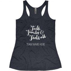 Faith, Family, Football Mom