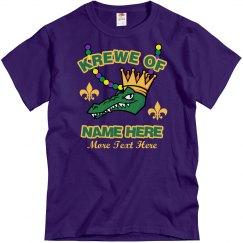 Mardi Gras Krewe of Custom Name