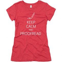 Keep Calm & Proofread