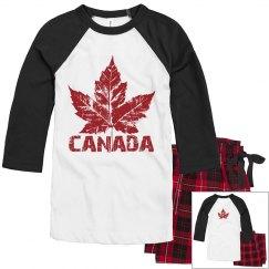 Cool Canada Pajamas