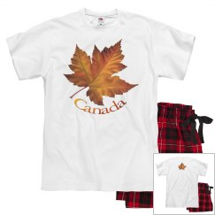 Canada Maple Leaf Pajamas