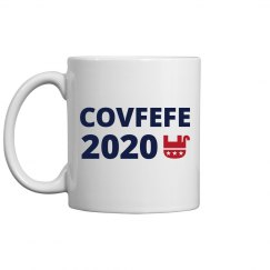 Funny Trump Covfefe 2020 Mug