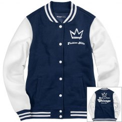 God is from Chgo Varsity Jacket