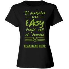 Fastpitch Softball Custom Shirt
