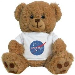 Custom Plush NASA Logo