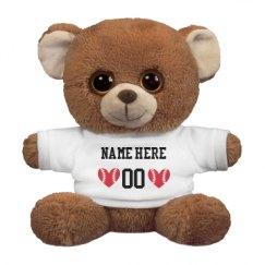 7.5 Inch Oogles Brown Bear Stuffed Animal