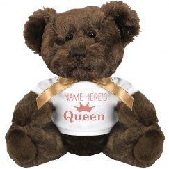 Custom Name His Queen