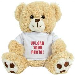 Custo Photo Upload Teddy