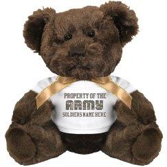 Custom Army Girlfriend Gift
