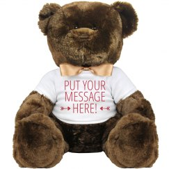 Custom Teddy Bear With Your Words