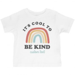 Cool to be Kind Toddler Tee