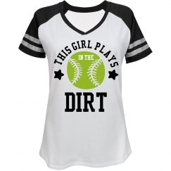 Softball Girls Play Dirty