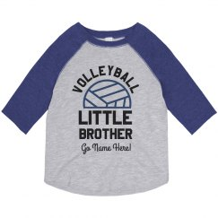 Personalized Volleyball Little Brother