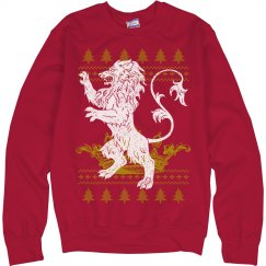 House Lannister Ugly Xmas Sweater
