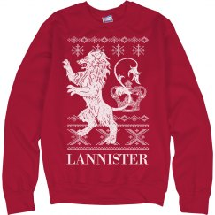 Ugly Christmas House Lannister