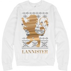 Gold Lannister Xmas Ugly Sweater