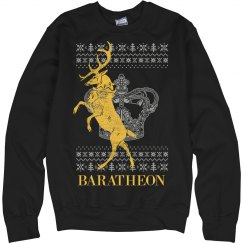 House Baratheon Ugly Sweater Xmas