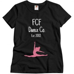 Adult size FCF Dance Co. T-shirt