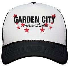 GCDS Black Trucker Hat