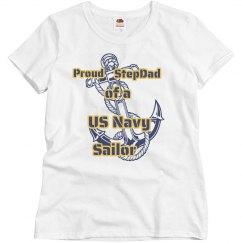 Navy Stepdad Shirt