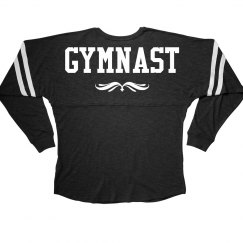 Cute Long Sleeve Gymnastics Girl