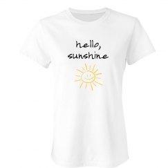 Hello Sunshine Adult Tee