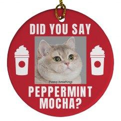 Peppermint Mocha Cat