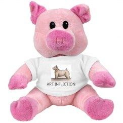 Art Infliction Stuffed Pig