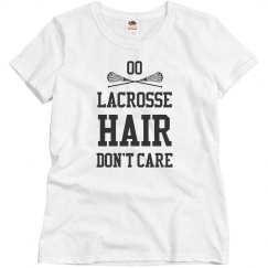 Customizable Lacrosse Hair