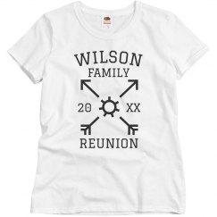 Custom Family Reunion Tees