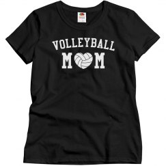Volleyball Mom With Heart