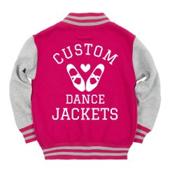 Custom Dance Varsity Jackets Youth