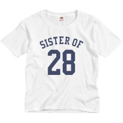 Custom Sports Sister Name/Number