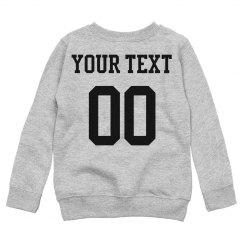 Custom Kids Name/Number Back Print