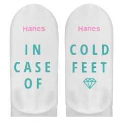 Case Of Cold Feet Engagement Gift